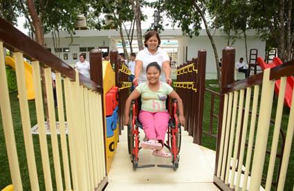 Parque inclusivo chetumal